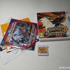 Videojuegos y Consolas: POKEMON ULTRASOL ( NINTENDO 3DS - PAL - ESP). Lote 269151083