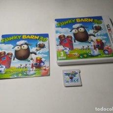 Videojuegos y Consolas: FUNKY BARN 3D ( NINTENDO 3DS - PAL - ESP). Lote 269151198