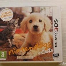 Videojuegos y Consolas: NINTENDOGS, CATS, NINTENDO 3DS. Lote 269161288