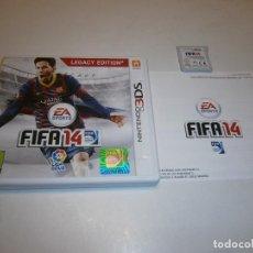 Videojuegos y Consolas: FIFA 14 NINTENDO 3DS PAL ESPAÑA COMPLETO. Lote 269163613