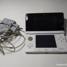 Videojuegos y Consolas: CONSOLA NINTENDO 3DS ( BLANCA ) + CARGADOR Y TARJETA DE MEMORIA. Lote 269389543