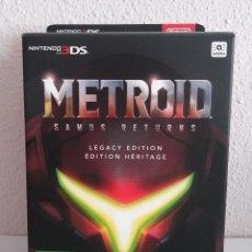 Videojuegos y Consolas: METROID SAMUS RETURN EDICIÓN LEGACY NINTENDO 3DS NUEVO. Lote 269486213