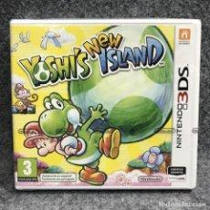 Videojuegos y Consolas: NEW YOSHIS ISLAND NUEVO PRECINTADO NINTENDO 3DS. Lote 269685318