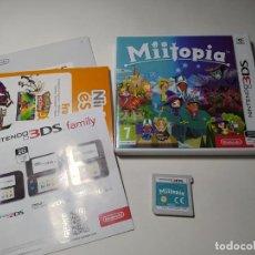 Videojuegos y Consolas: MIITOPIA ( NINTENDO 2DS - 3DS - PAL - ESP). Lote 269816493