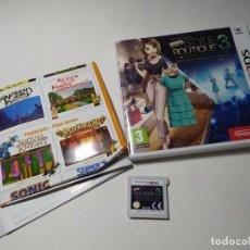 Videogiochi e Consoli: NEW STYLE BOUTIQUE 3 ( NINTENDO 2DS - 3DS - PAL - ESP). Lote 269816623