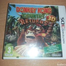 Videojuegos y Consolas: DONKEY KONG COUNTRY NINTENDO 3DS PRECINTADOS PAL ESP. Lote 270651603