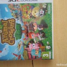 Videojuegos y Consolas: M-38 JUEGO NINTENDO 3DS ANIMAL CROSSING SOLO CARATULA SIN EL JUEGO. Lote 273126143