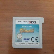 Videojuegos y Consolas: SHINOBI 3DS SOLO CARTUCHO. Lote 273519003
