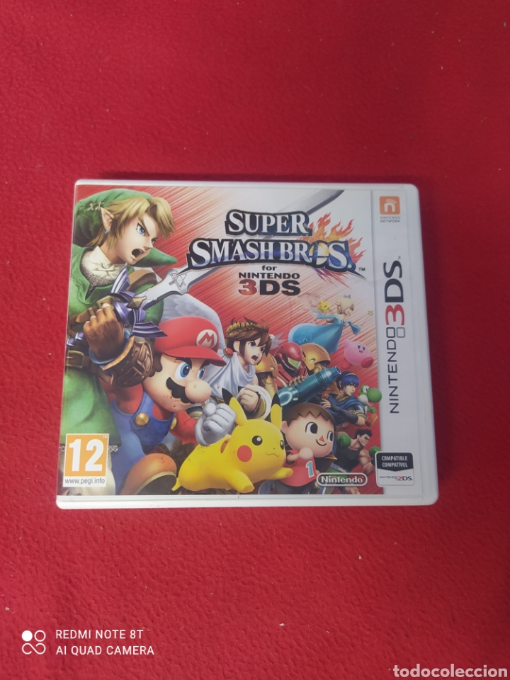 SÚPER SMASH BROS (Juguetes - Videojuegos y Consolas - Nintendo - 3DS)