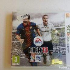 Videojuegos y Consolas: JUEGO NINTENDO 3 DS FIFA 13. Lote 274681078