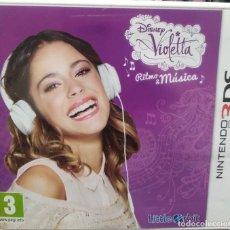Videojuegos y Consolas: DISNEY VIOLETTA RITMO & MÚSICA. JUEGO PARA 3DS. USADO, BUEN ESTADO.. Lote 274831138