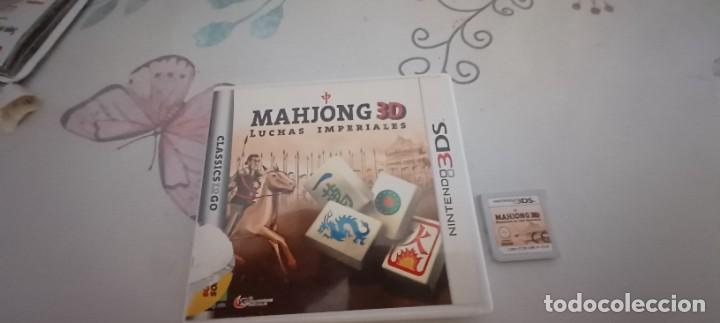 MAHJONG 3D - LUCHAS IMPERIALES - NINTENDO 3DS - PAL ESPAÑA (Juguetes - Videojuegos y Consolas - Nintendo - 3DS)