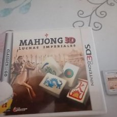 Videojuegos y Consolas: MAHJONG 3D - LUCHAS IMPERIALES - NINTENDO 3DS - PAL ESPAÑA. Lote 277088463
