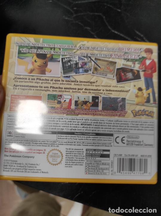 Videojuegos y Consolas: JUEGO DETECTIVE PIKACHU NINTENDO 3DS - Foto 2 - 278188703