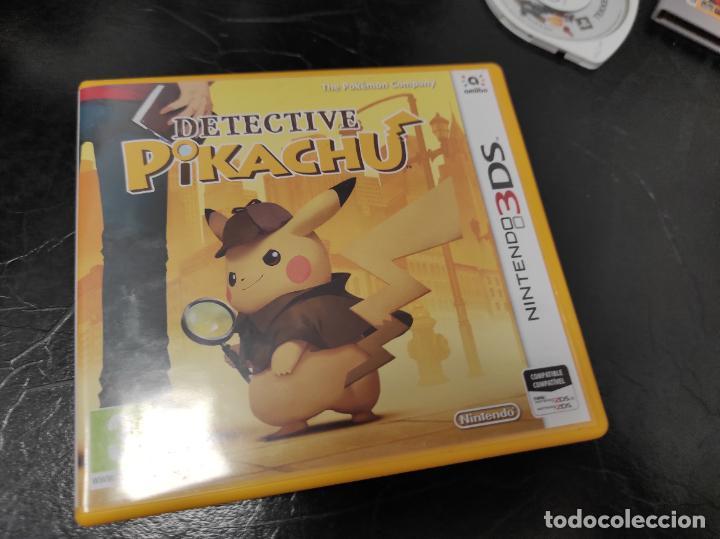 JUEGO DETECTIVE PIKACHU NINTENDO 3DS (Juguetes - Videojuegos y Consolas - Nintendo - 3DS)