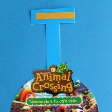 Videojuegos y Consolas: NINTENDO 3DS - CARTEL PUBLICITARIO ANIMAL CROSSING NEW LEAF. Lote 278562348