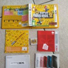 Videojuegos y Consolas: NEW SUPER MARIO BROS 2 NINTENDO 3DS N3DS COMPLETO PAL-ESPAÑA. Lote 278580503