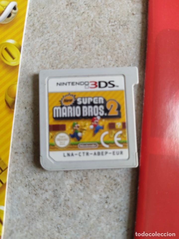 Videojuegos y Consolas: NEW SUPER MARIO BROS 2 NINTENDO 3DS N3DS COMPLETO PAL-ESPAÑA - Foto 2 - 278580503