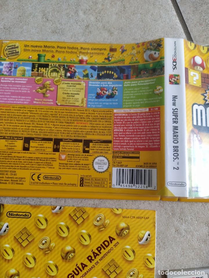 Videojuegos y Consolas: NEW SUPER MARIO BROS 2 NINTENDO 3DS N3DS COMPLETO PAL-ESPAÑA - Foto 3 - 278580503