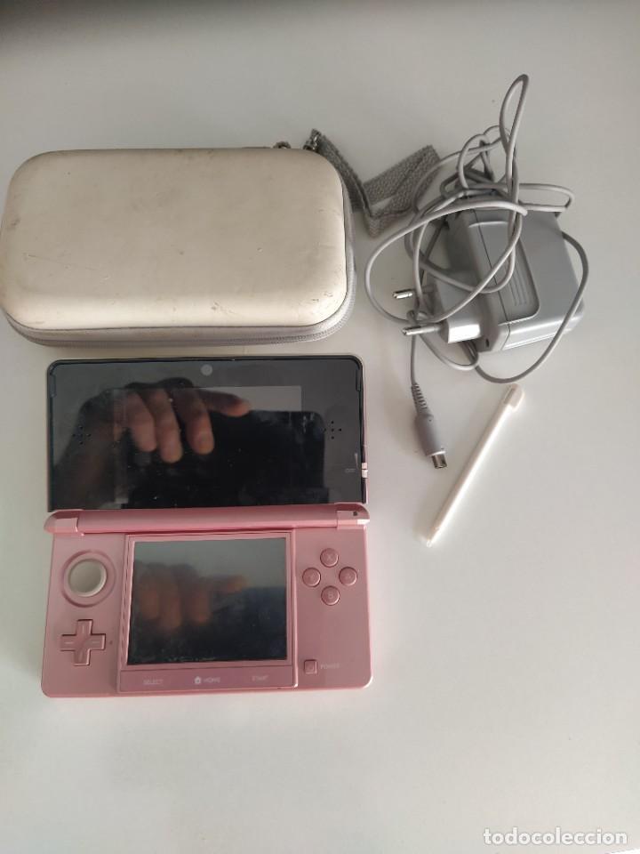 CONSOLA NINTENDO 3DS N3DS + CARGADOR Y FUNDA , FUNCIONA PERFECTA (Juguetes - Videojuegos y Consolas - Nintendo - 3DS)