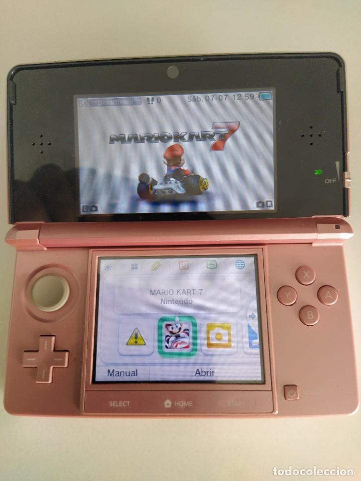 Videojuegos y Consolas: CONSOLA NINTENDO 3DS N3DS + CARGADOR Y FUNDA , FUNCIONA PERFECTA - Foto 2 - 278581328