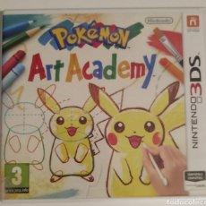 Videojuegos y Consolas: POKEMON ART ACADEMY NINTENDO 3DS. Lote 279344818