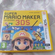 Videojuegos y Consolas: MARIO MAKER 3DS. Lote 279355448