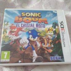 Videojuegos y Consolas: SONIC BOOM EL CRISTAL ROTO 3DS. Lote 279355508