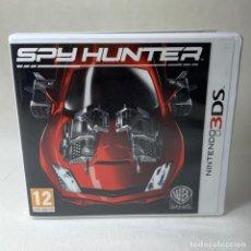 Videojuegos y Consolas: VIDEOJUEGO NINTENDO 3DS - SPY HUNTER + CAJA + INSTRUCCIONES. Lote 279514588