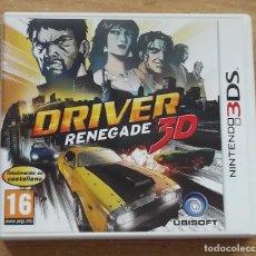 Videojuegos y Consolas: DRIVER RENAGADE NINTEWNDO 3DS N3DS PAL ESPAÑA COMO NUEVO. Lote 286803003