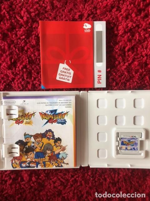 INAZUMA ELEVEN GO: SHADOW SOMBRA NINTENDO 3DS COMPLETO PAL ESPAÑA (Juguetes - Videojuegos y Consolas - Nintendo - 3DS)