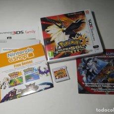 Videojuegos y Consolas: POKEMON ULTRASOL ( NINTENDO 3DS - PAL - ESP)(1). Lote 287913258