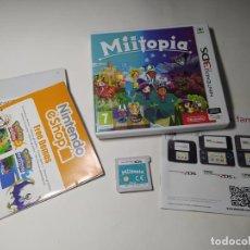 Videojuegos y Consolas: MIITOPIA ( NINTENDO 3DS - PAL - ESP)(1). Lote 287913558