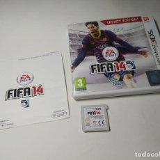 Videojuegos y Consolas: FIFA 14 ( NINTENDO 3DS - PAL - ESP). Lote 287913673