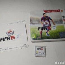 Videojuegos y Consolas: FIFA 15 ( NINTENDO 3DS - PAL - ESP). Lote 287913713