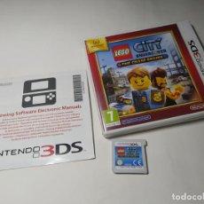 Videojuegos y Consolas: LEGO CITY UNDERCOVER ( NINTENDO 3DS - PAL - ESP). Lote 287913803