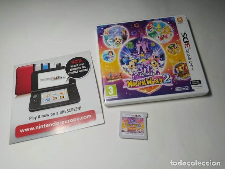 DISNEY MAGICAL WORLD 2 ( NINTENDO 3DS - PAL - ESP)(1) (Juguetes - Videojuegos y Consolas - Nintendo - 3DS)