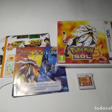 Videojuegos y Consolas: POKEMON SOL ( NINTENDO 3DS - PAL - ESP)(1). Lote 287914183