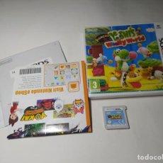 Videojuegos y Consolas: POOCHY & YOSHI´S WOOLLY WORLD ( NINTENDO 3DS - PAL - ESP)(1). Lote 287914588