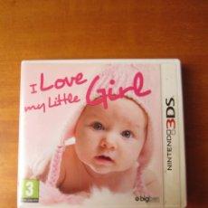 Videojuegos y Consolas: I LOVE MY LITTLE GIRL (NINTENDO 3DS). Lote 289027343