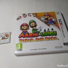 Videojuegos y Consolas: MARIO & LUIGI : PAPER JAM BROS. ( NINTENDO 3DS - PAL -ESP)(1). Lote 289325523