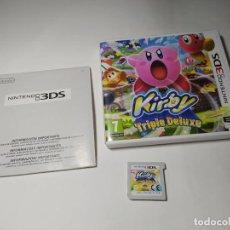 Videojuegos y Consolas: KIRBY: TRIPLE DELUXE ( NINTENDO 3DS - PAL -ESP)(1). Lote 289325603