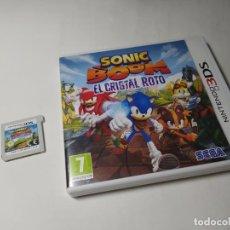 Videojuegos y Consolas: SONIC BOOM EL CRISTAL ROTO ( NINTENDO 3DS - PAL -ESP)(1). Lote 289325663