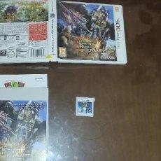 Videojuegos y Consolas: MONSTER HUNTER 4 ULTIMATE NINTENDO 3DS COMPLETO PAL ESPAÑA. Lote 289349373