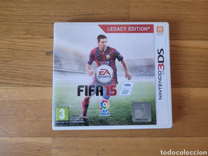 NINTENDO 3DS FIFA 15 CAJA VACIA (Juguetes - Videojuegos y Consolas - Nintendo - 3DS)