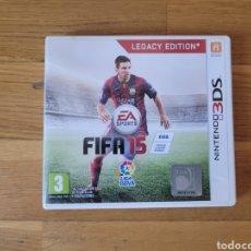 Videojuegos y Consolas: NINTENDO 3DS FIFA 15 CAJA VACIA. Lote 289395113