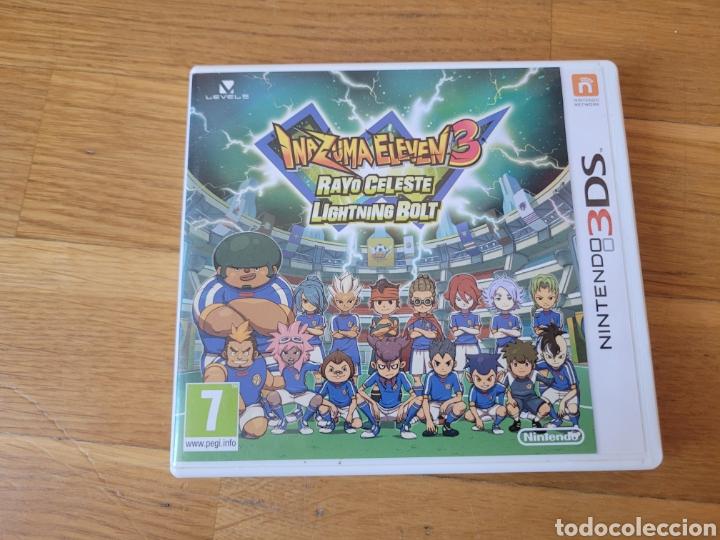 INAZUMA ELEVEN 3 CAJA VACIA NINTENDO 3DS (Juguetes - Videojuegos y Consolas - Nintendo - 3DS)
