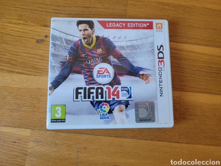 NINTENDO 3DS FIFA 14 CAJA VACIA (Juguetes - Videojuegos y Consolas - Nintendo - 3DS)