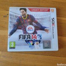 Videojuegos y Consolas: NINTENDO 3DS FIFA 14 CAJA VACIA. Lote 289395303