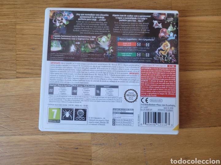 Videojuegos y Consolas: Nintendo 3ds Luigi mansion 2 caja vacia - Foto 2 - 289395443